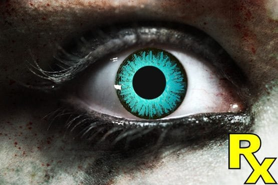 Blue Wolf Gothika Contact Lenses