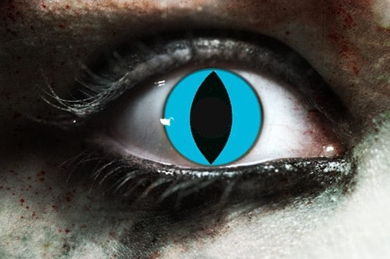 Cheshire Cat Gothika Contact Lenses