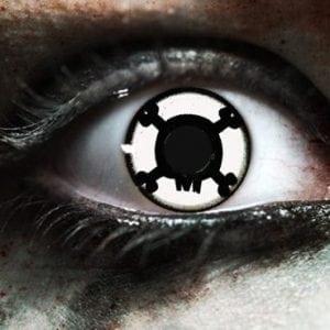 CrossBones Contact Lenses