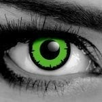 Angelic Green Gothika Contact Lenses