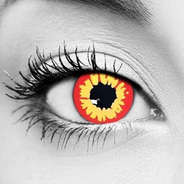 Gothika Red Wolf Gothika Contact Lenses