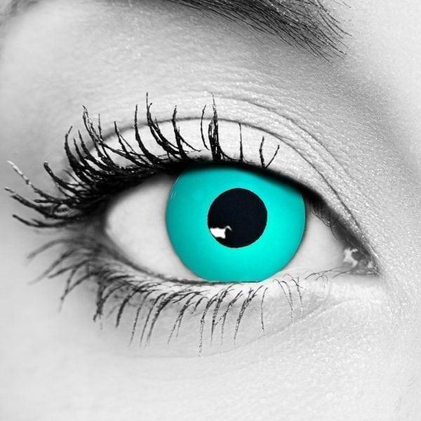 Gothika Zombie Blue Gothika Contact Lenses