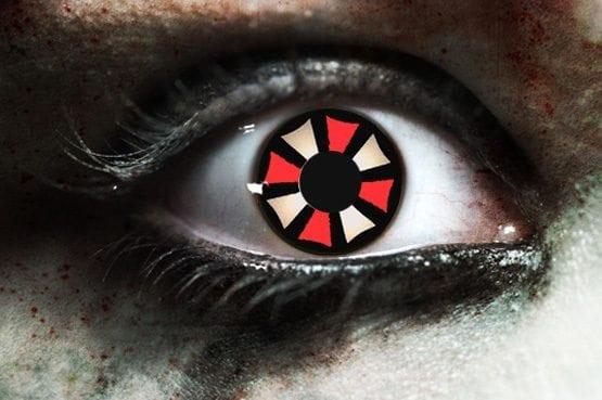 Resident Evil Gothika Contact Lenses