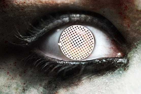 Dead Eye Gothika Contact Lenses