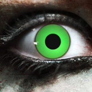 Zombie Green Gothika Contact Lenses
