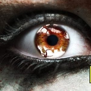 Zombie Infection Gothika Contact Lenses