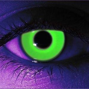 Green UV Contact Lenses