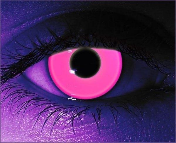 Pink UV Gothika Contact Lenses