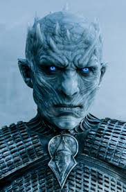 Night King Hand Painted Contact Lenses