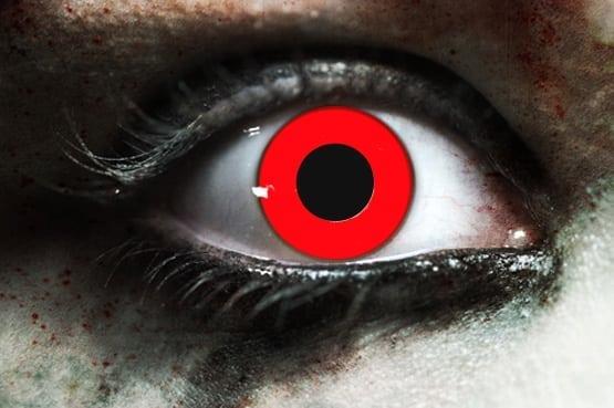 Red Vampire Gothika Contact Lenses