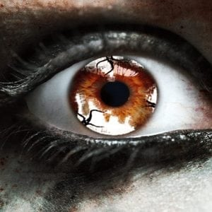 Zombie Imfection Gothika Contact Lenses