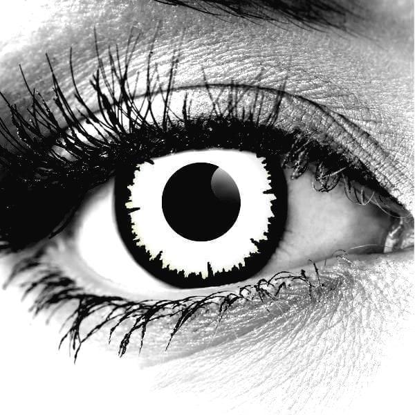 Angelic White Gothika Contact Lenses