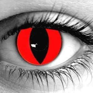 Red Cat Gothika Contact Lenses