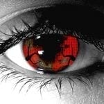 Zombie Hemorrhage Gothika Contact Lenses
